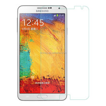 "4.7"" corning Gorilla glass screen protector for samsung galaxy note3 with 2.5 D polishing round edge"
