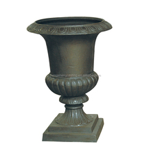Decorative Cast Iron Garden Planter / Ornamental Garden Pots