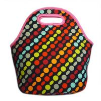 New fashion novelty wetsuit material lunch bag