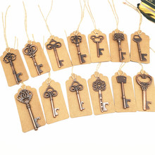 Wedding Souvenirs Retro Skeleton Key <strong>Bottle</strong> <strong>Opener</strong> For Guest Party Favors Festive Party Supplies