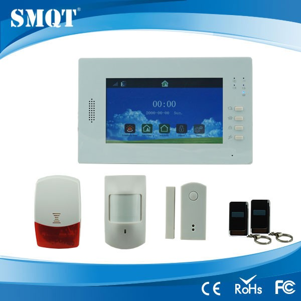Big Touch graphic display GSM Alarm host systems