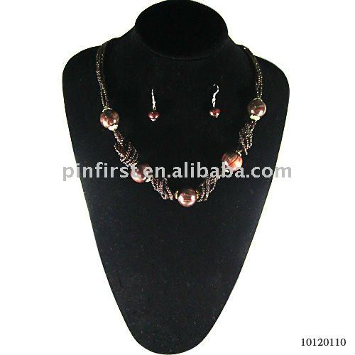 Lot 240 Hot Selling Brown Bead Jewelry Sets