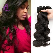 Cheap Virgin Brazilian hair weave bundles , unprocessed brazilian human hair sew in weave