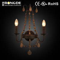 New design decorative vintage candle wall sconces