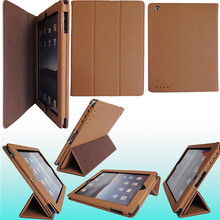 Design Shockproof Case For iPad Table Popular PU Stand Case For iPad1/2/3/4