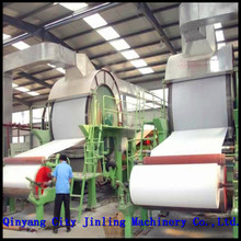 Recycling Paper used for producing carton box/test liner fluting paper jumbo roll paper making machine