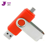 Customized USB OTG Pendrive Micro Otg Usb Flash Drive For Smartphone Model JEC-OTG17