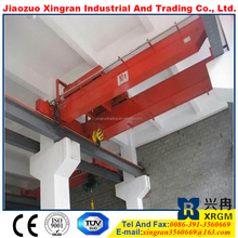 wireless steel magnetic girder crane 20 ton top running double beams overhead crane