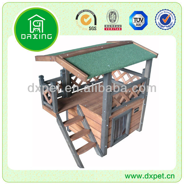 Wooden Waterproof Dog Kennel Cage (BV SGS TUV FSC)