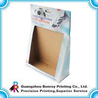 Customize full color printing merchandising corrugated display box