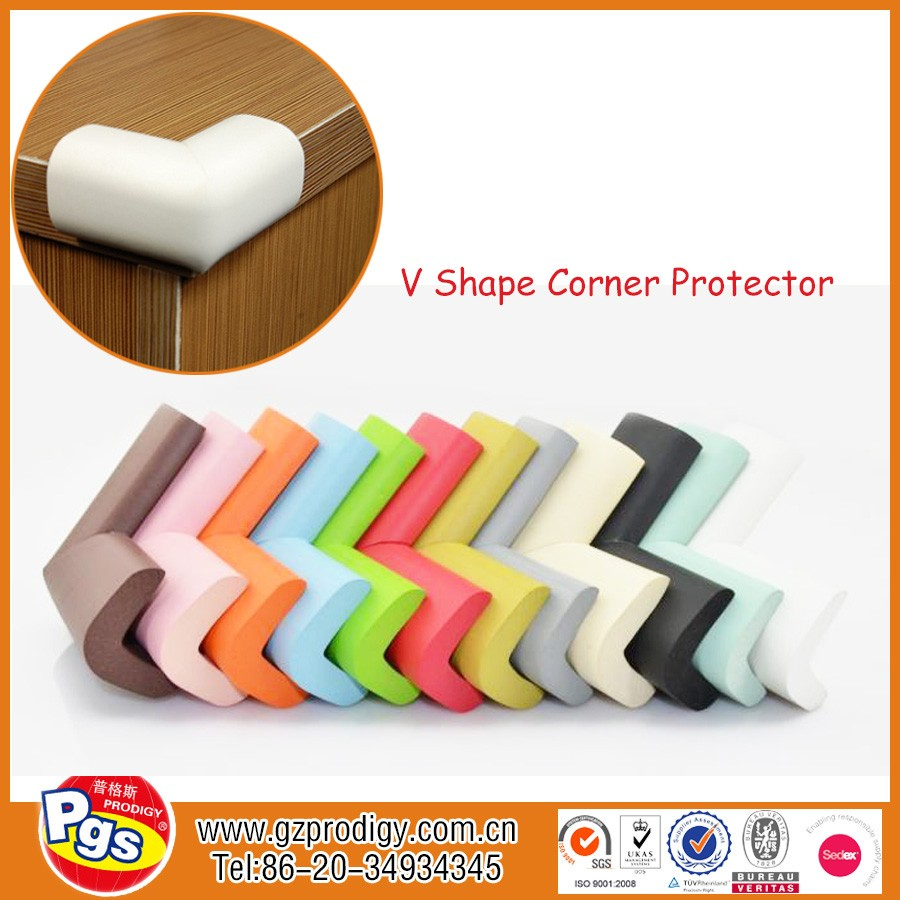 Wholesale rubber corner guard/ NBR table corner protectors for tables/ edge protector