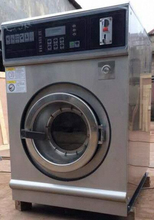 coin operating fully automatic laundry industrial washing machine price