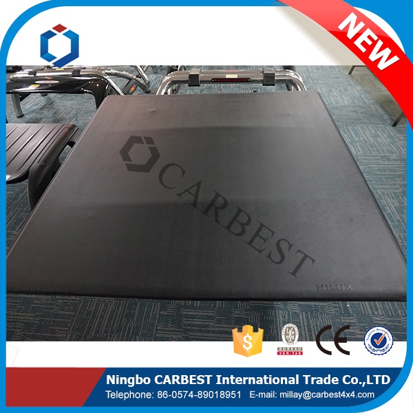 High Quality PVC Soft Roll Up Bed Cover For Chevrolet Colorado S10