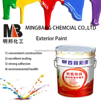 Odorless acrylic house interior decorative latex paint