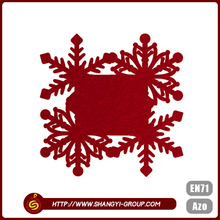 Shangyi promotional Christmas polyester placemat