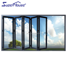 Australia hot model with AS2047&CSA standard exterior glass aluminum folding door