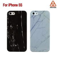Hotest Marble pattern hard PC Phone Case for iphone 5s, for IP5 Texture Print Transparent Phone cover