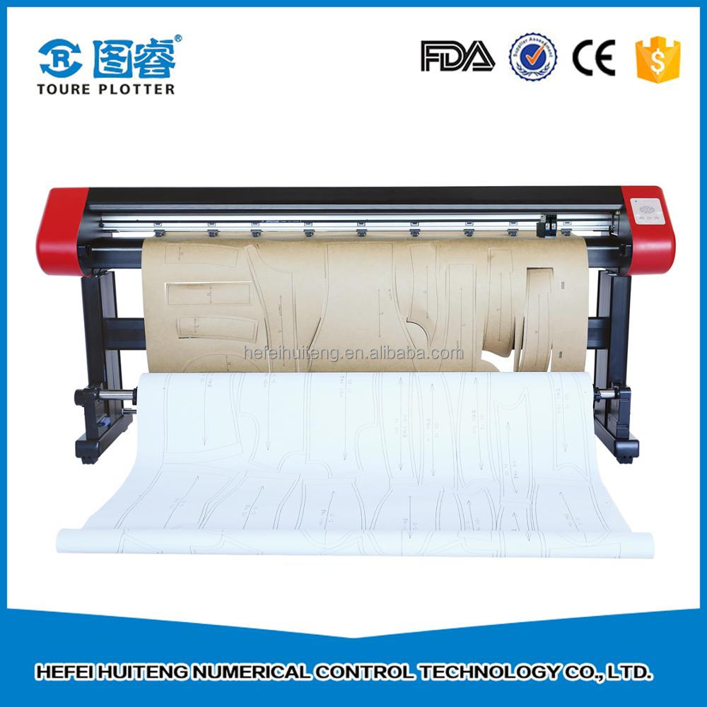 Chinese manufacturer eco solvent vertical inkjet cutting plotter