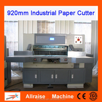Good Price 920mm CNC Paper Cutting Machine Industrial Paper Guillotine Machine