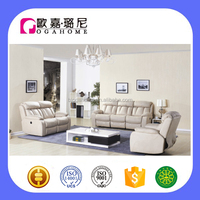 S15320 CIFF Latest Model Living Room Sofa Fabric Sofa Functional Sofa Recliner