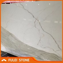 Best quality italian marble prices white calacatta marble slab