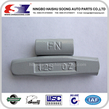 FN Type Fe clip on wheel balance weights