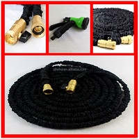 Solid brass fitting 3 Layer Natural Latex Premium Quality 50 ft expandable garden hose/ Garden Tool/ Home&Garden products