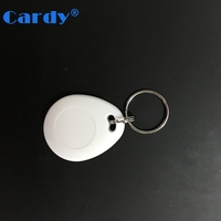 ABS case laser numbering rfid key fob