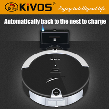KiVOS Camera Robot vacuum cleaner 2016 auto cleaning floor cleaner with virtual wall for sale