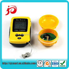 High-tech portable wireless fish finder with LCD display screen