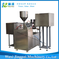 Customized KPSG-3 automatic silicone sealant filling and capping machine