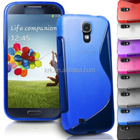 High Quality Soft TPU Gel S line Skin Cover Case For Samsung Galaxy SIIII S4 i9500