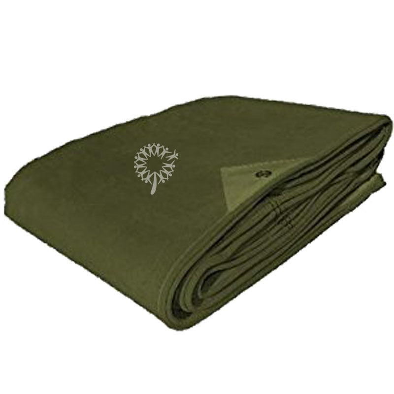 waterproof pvc canvas cover tent military tarpaulins
