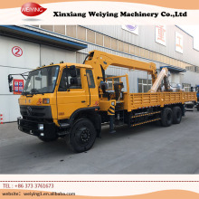 The 5 tons used mini truck mounted crane made in China