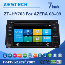 auto audio system for Hyundai Azera/Grandeur 2008 2009 car radio with Radio RDS BT 3G automobile dvd gps player