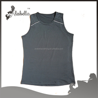 Wholesale men tank tops men's clothing with polyester spandex fabric
