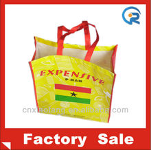 Cheap wholesale reusable shopping bags/reusable grocery bags