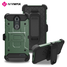 IVYMAX new product tough armor kickstand phone case for ZTE GRAND X4