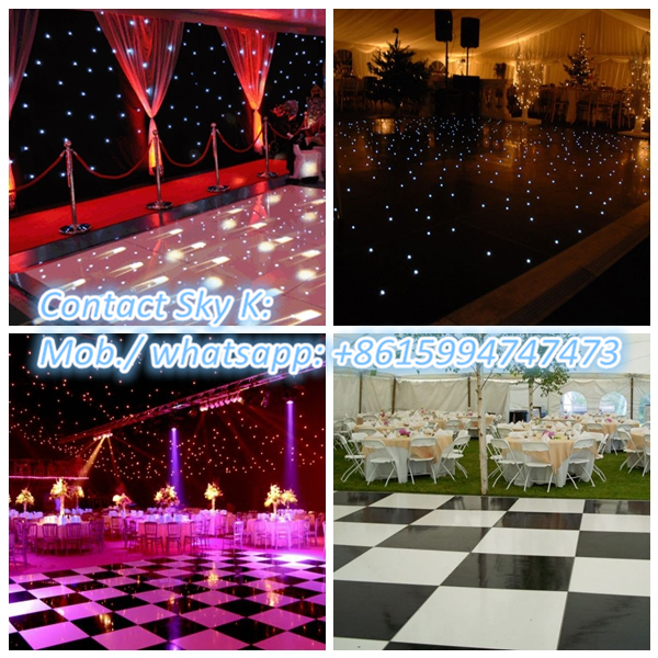 big rgb led screen wooden dance floor advertising 3d led screen