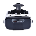 New VR Boss 3D glasses Virtual Reality for IOS/Android OEM adjust Lens VR with Earphone Like Bobo vr Z4 Headset