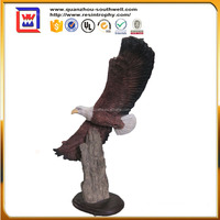 Handicraft animal interior sculpture sea eagle and polyresin glede eagle and resin eagle statues for sale