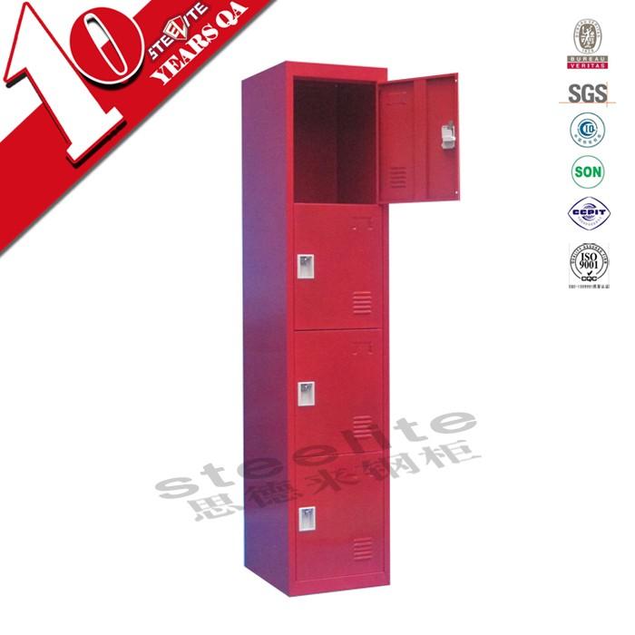 Slim Freestanding 1 Door Steel Almirah Cabinet Designs For