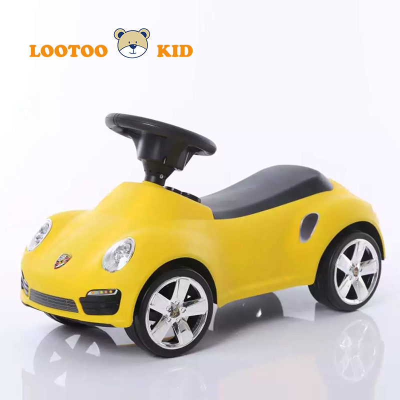 Alibaba trade assurance china facotry plastic light music ride toy car