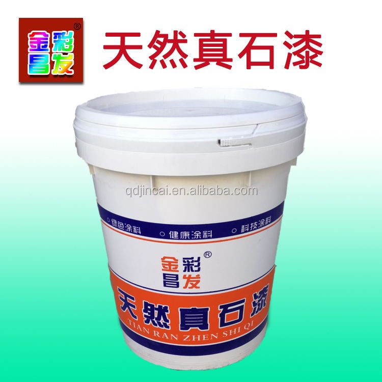 Low VOC Rock-Chip Real Stone Alike Washable Cheap Spray Building Paint