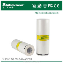 Duplo B4 paper high quality compatible ink and master rolls