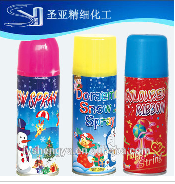 fake snow spray for Christmas