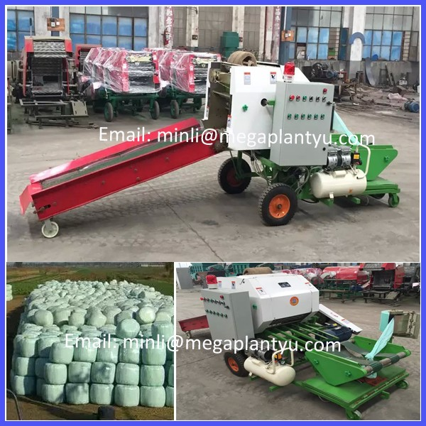 Full Automatic Small Silage Baler Grass Hay Baler Machine