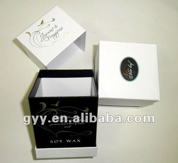 new year decent paper perfume packaging box