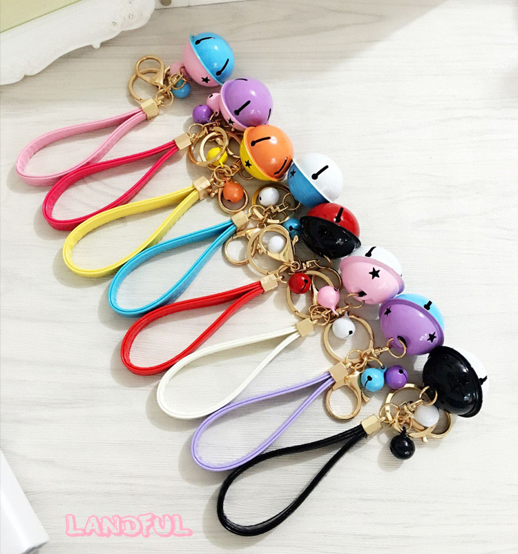 New Arrival Special Bell Keychain Hand Bag Accessories For Christmas Gift