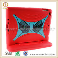 2015 New arrival protective silicone tablet cover for ipad air case with foam stand